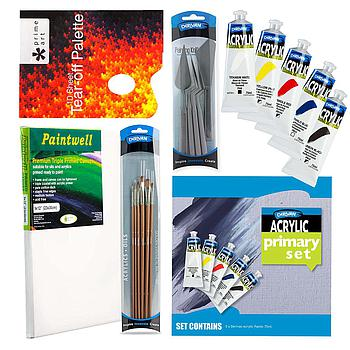 Beginners Artist Acrylic Painting Set